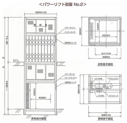 パワーリフト図面 No.2